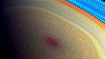 L'image en fausses couleurs du vortex