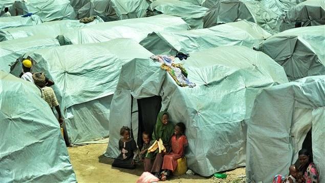 Un camp de réfugiés somaliens.
