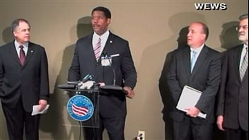 Conférence de presse de la police de Cleveland