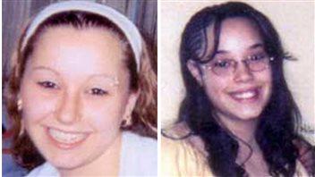 Amanda Berry, à gauche, et Georgina DeJesus, à droite, peu de temps avant leur disparition.