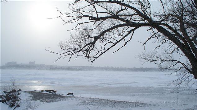 Le lac Ramsey à Sudbury