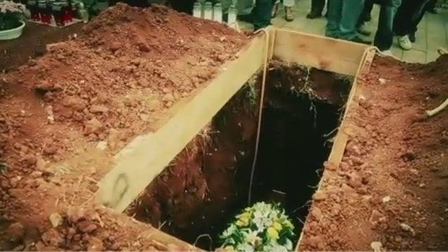 Un enterrement écologique