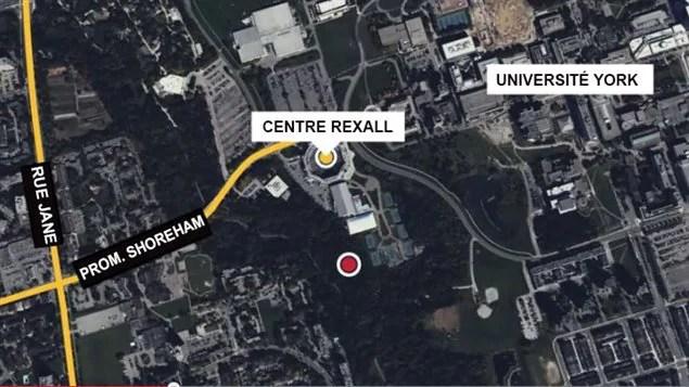 Un tunnel a été découvert près du stade de tennis Rexall