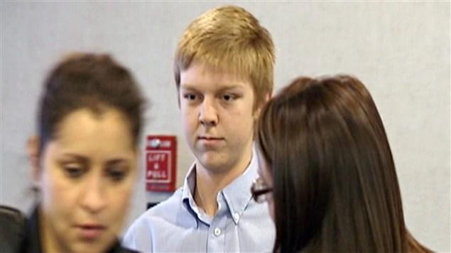 L'adolescent texan, Ethan Couch, lors de son procès en 2013.