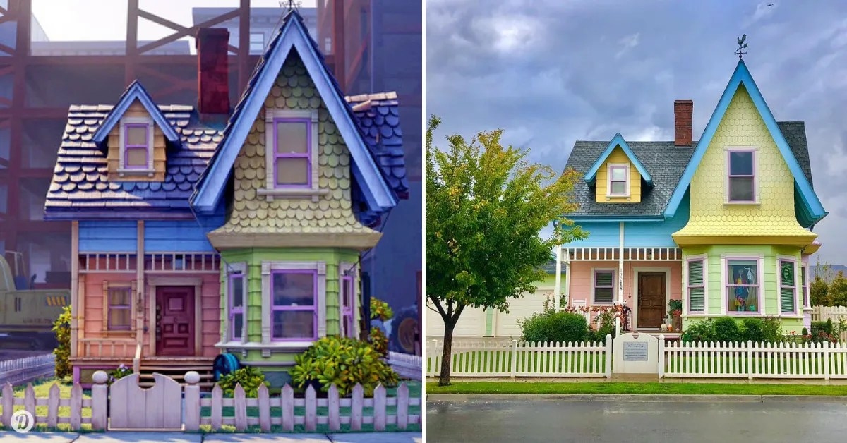 7 Cartoon Homes That Exist In Real Life