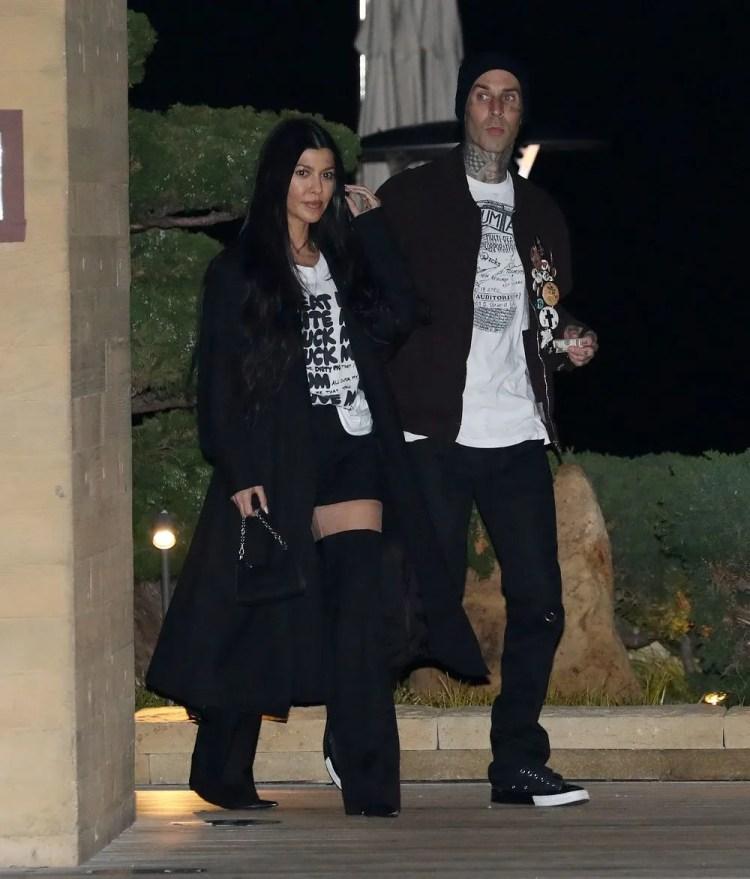 Travis Barker Tattooed Kourtney Kardashian's Name On His Chest
