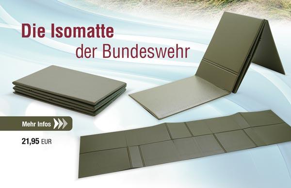 Isomatte faltbar - 190 x 60 x 0,5 cm