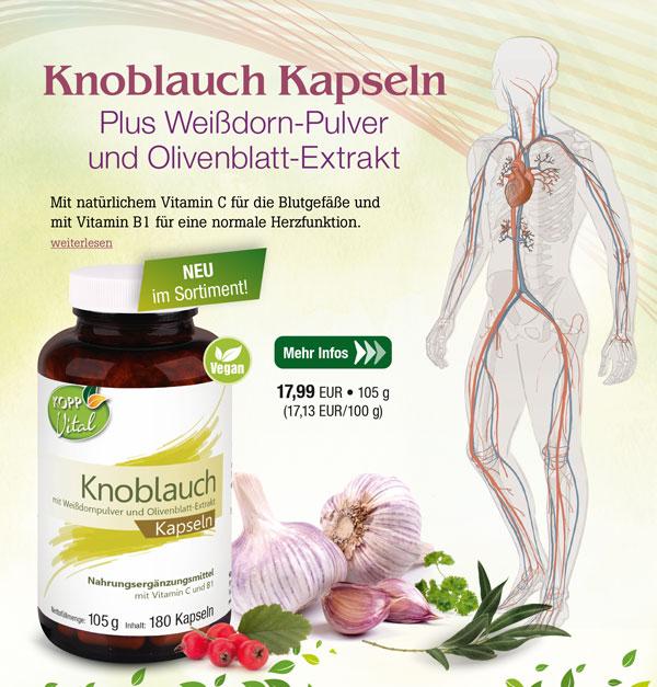 Kopp Vital Knoblauch Plus