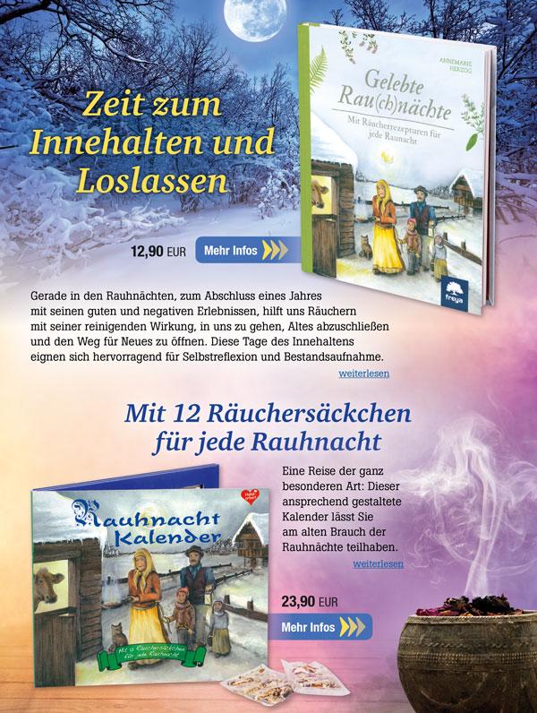Gelebte Rau(ch)nächte & Rauhnacht-Kalender