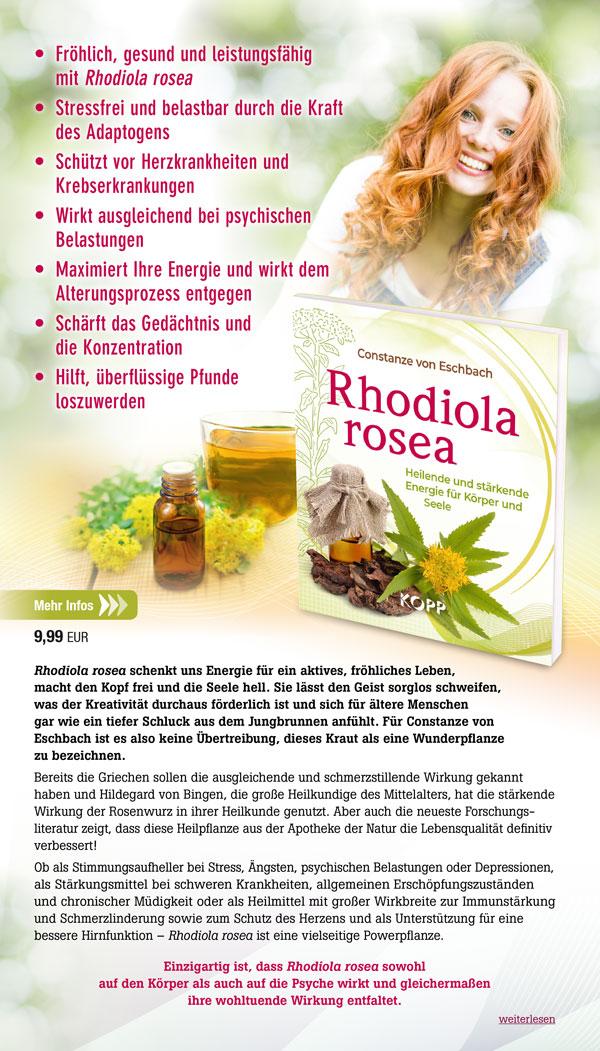 Fröhlich, gesund und leistungsfähig mit Rhodiola rosea