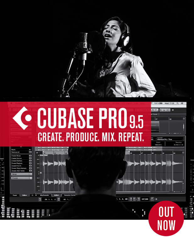 Out now: Cubase 9.5 with amazing new features