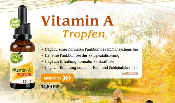 Kopp Vital Vitamin A Tropfen