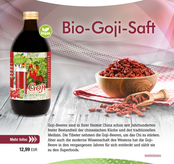 Kopp Vital Bio Goji-Saft