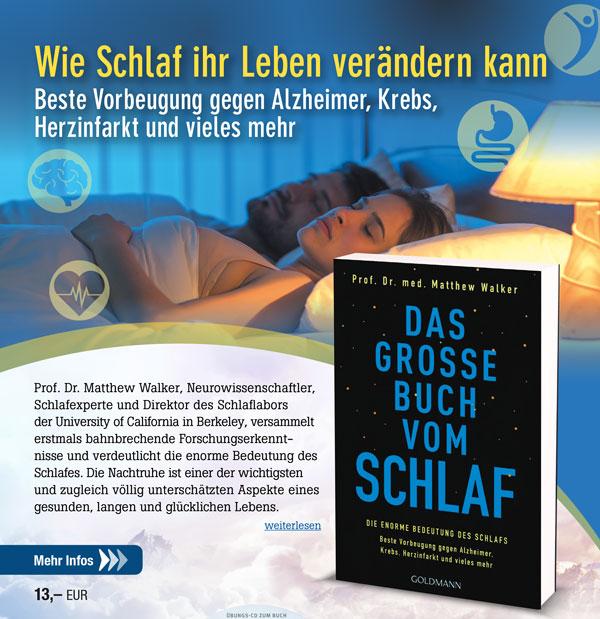 Das grosse Buch vom Schlaf