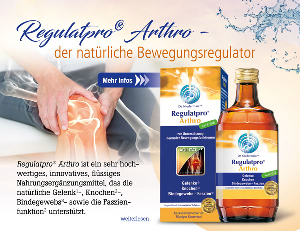 Dr. Niedermaier® Regulatpro® Arthro