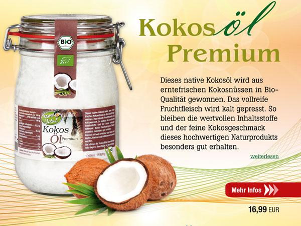 Kopp Vital Bio-Kokosöl 1000ml - vegan