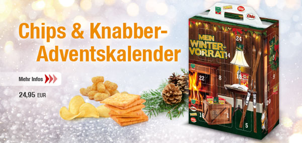 Intersnack Chips Adventskalender