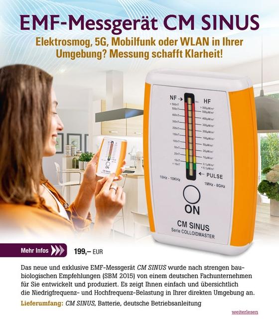 Elektrosmog-Messgerät CM SINUS