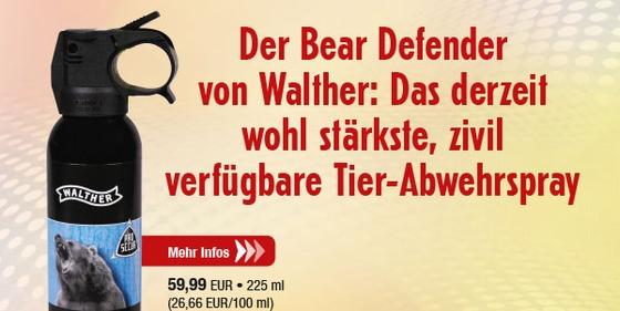 Walther ProSecur Bear Defender - 225ml