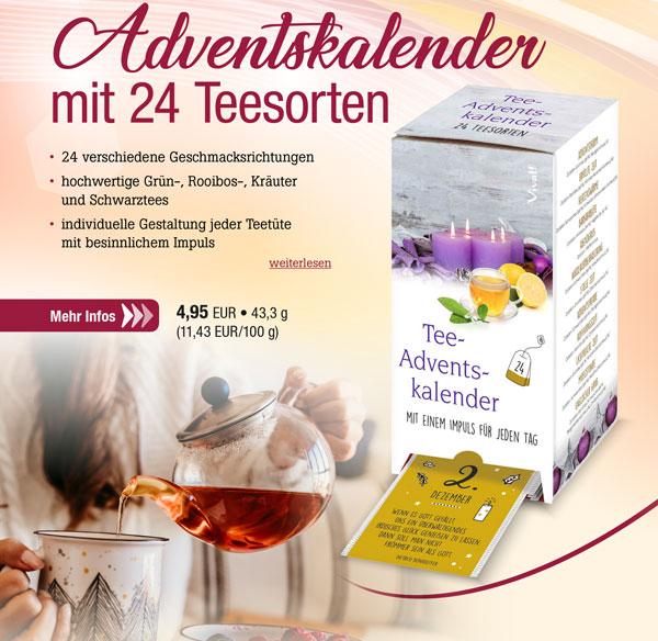 Vivat! Tee-Adventskalender