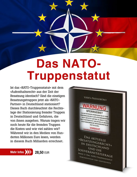 Das aktuelle »Besatzungsrecht« in Deutschland und die Souveränitätsfrage Band 2