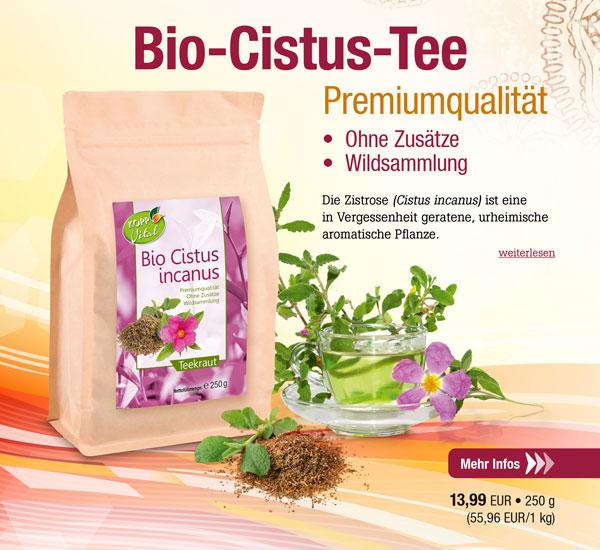 Kopp Vital Bio Cistus Tee