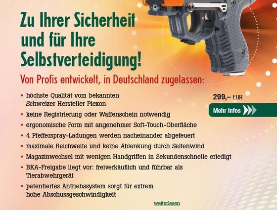 Piexon JPX6 Jet Protector mit 4-Schuss-Magazin