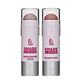 "RdeL Young ""Shade & Shine"" Blush Stick + Highlighter Stick"