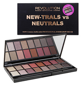 Makeup Revolution New-Trails vs Neutrals
