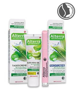 Alterra-Produkte mit Aloe Vera