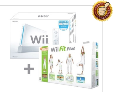 Nintendo Wii + Wii Fit Plus With Balance Board