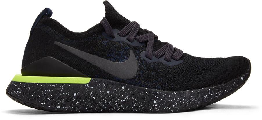 Nike Navy Epic React Flyknit 2 Sneakers