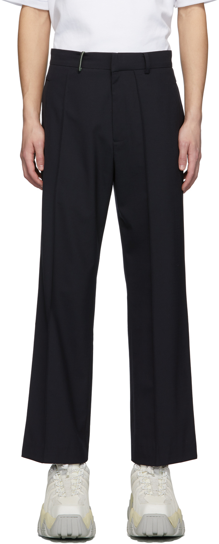 ADER error Navy Pocket Detail Trousers