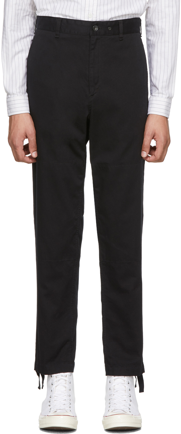 rag & bone Black Corbin Trousers