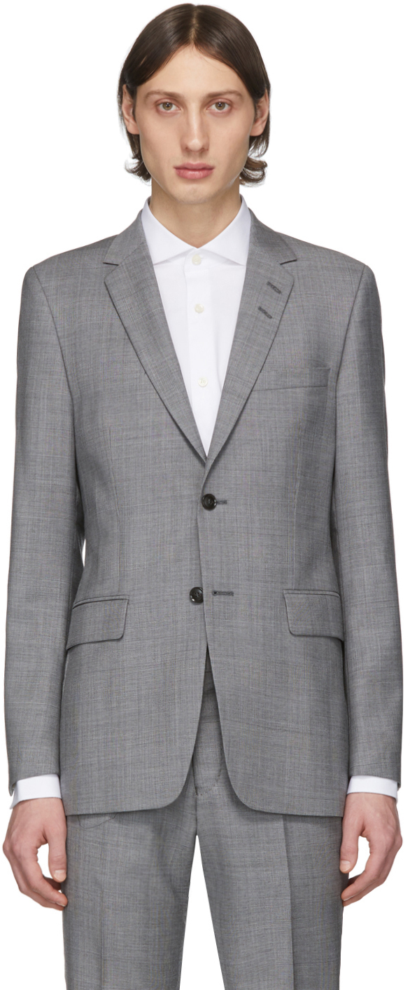 Tiger of Sweden Grey Wool Blazer