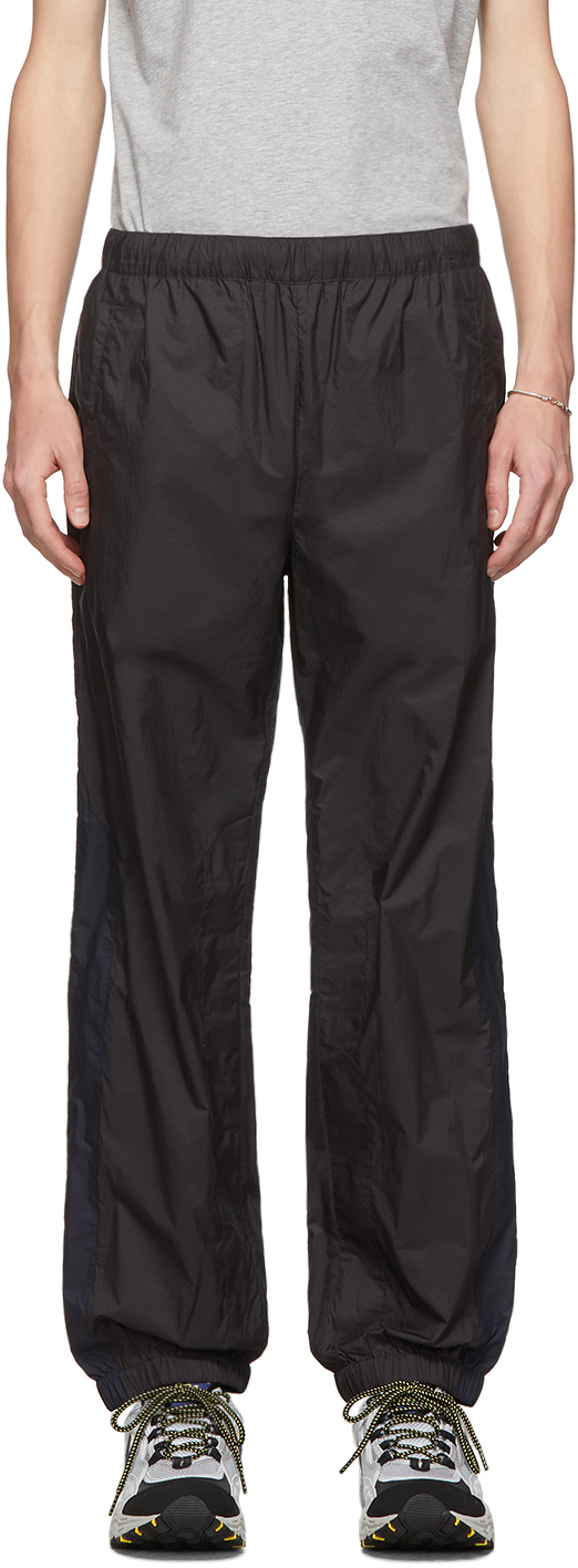 Acne Studios Black Ripstop Track Trousers