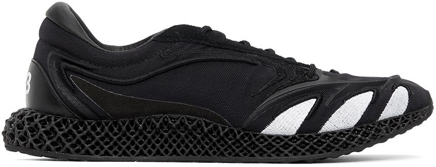 Y-3 Black Runner 4D Sneakers