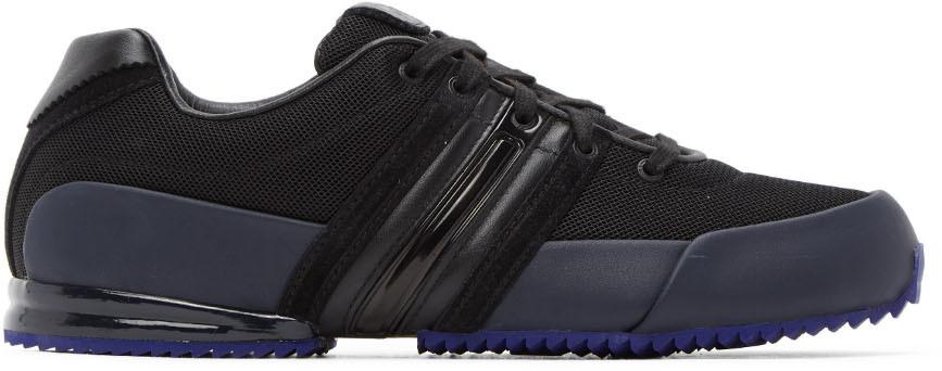 Y-3 Black & Navy Sprint Sneakers