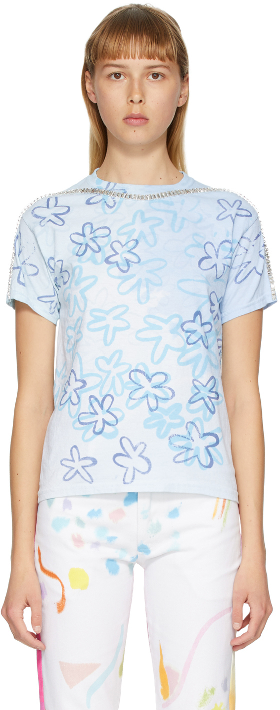 Collina Strada White & Blue Sporty Spice T-Shirt