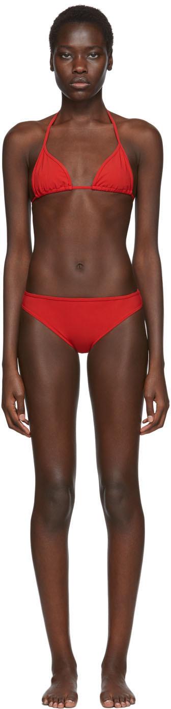 Rudi Gernreich Red Classic Bikini