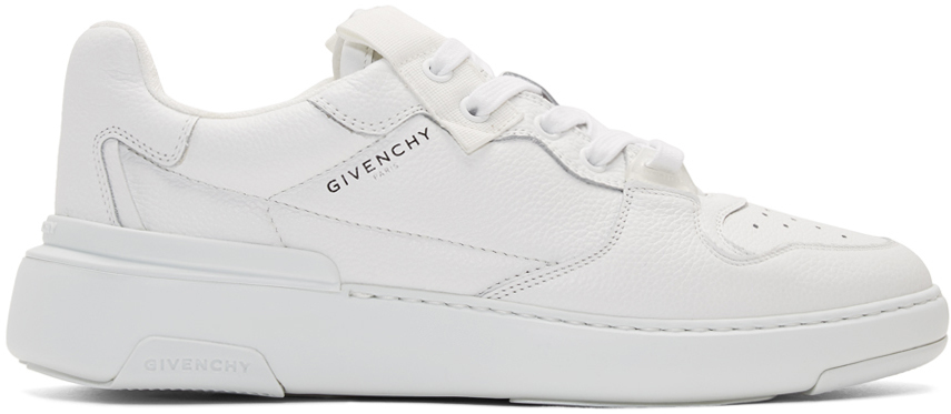 Givenchy White Wing Low Sneakers