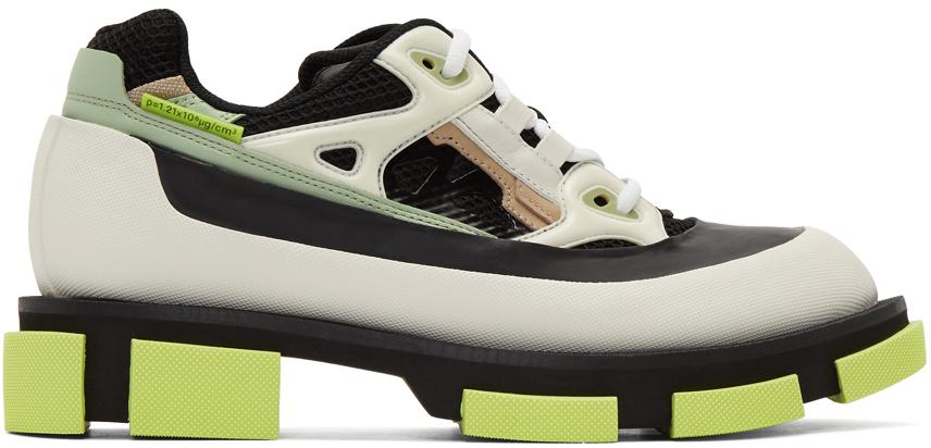 both Black & White Gao Runner Sneakers