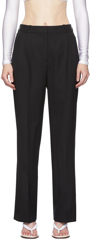 Coperni Black Wool Loose Trousers