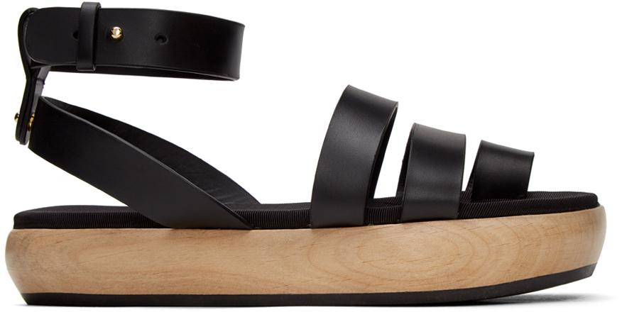 NEOUS Black Grobya 30MM Sandals