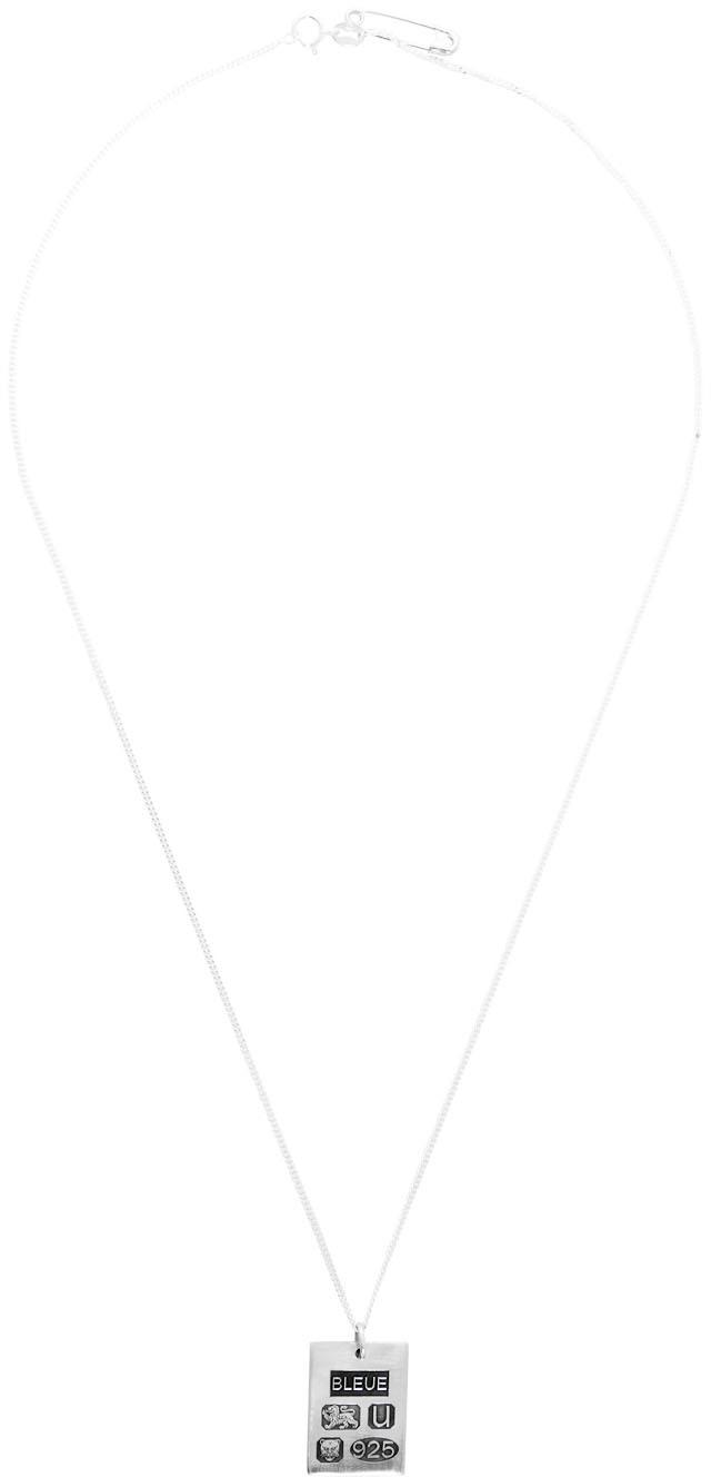 Bleue Burnham Silver 'The Grandfather' Pendant Necklace