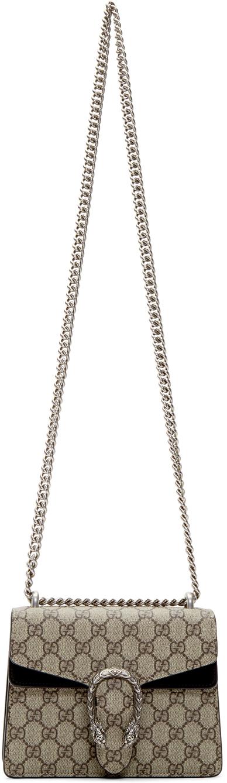 Gucci Beige Mini Dionysus Shoulder Bag