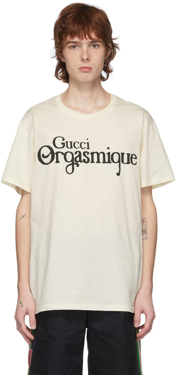 Gucci Off-White 'Gucci Orgasmique' T-Shirt