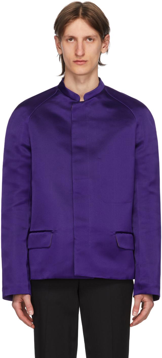 Haider Ackermann Purple Taroni Jacket