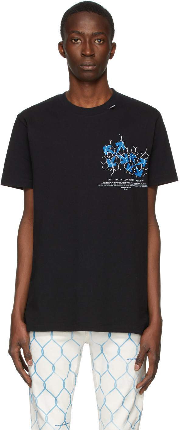 Off-White Black Fence Arrows T-Shirt