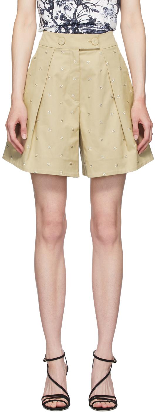 Erdem Tan Howard Tailored Shorts